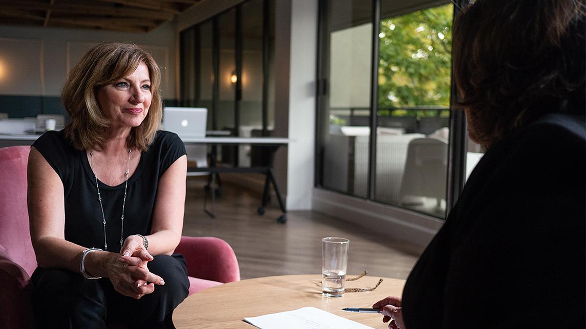 Susanne coaching a client