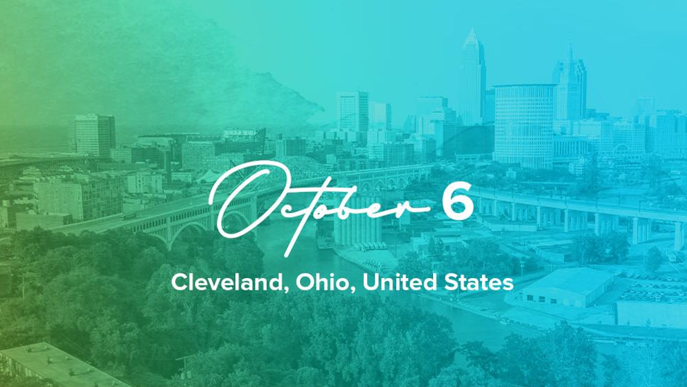 Cleveland, Ohio, USA: October 6