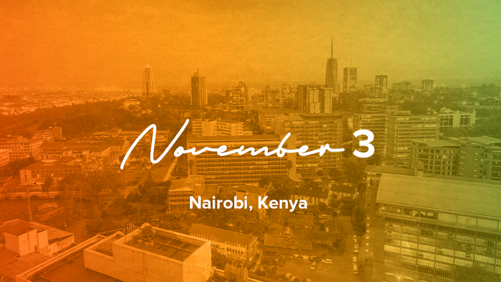 Nairobi, Kenya: November 3